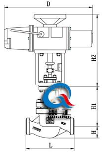 智能电动调节阀(焊接式)