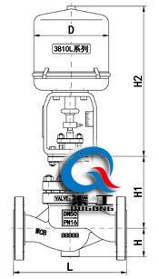 电动压力调节阀(配3810L执行器)