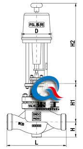 电动压力调节阀(配PSL执行器)
