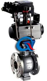 VQ647气动V型球阀  ZSHV气动V型调节球阀