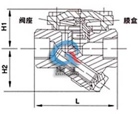 CS16H膜合式疏水阀 (螺纹连接)