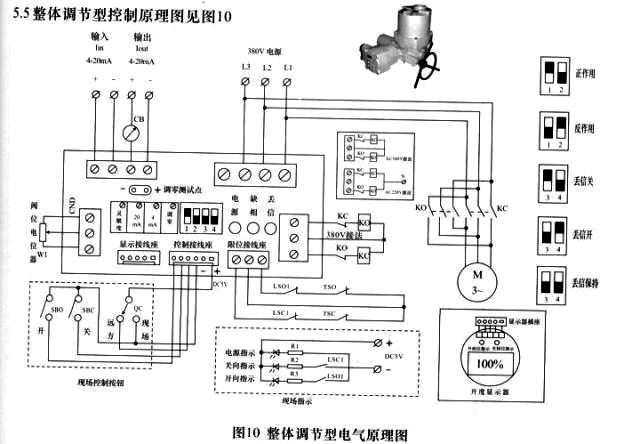 电动球阀工作原理图
